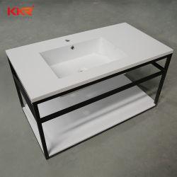 Стильный черный корпус из нержавеющей стали базового полимера камень в ванной комнате санитарных продовольственный бассейнов