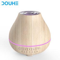 Comercio al por mayor de grano de madera de 200 ml Atomizer purificador difusor de aroma Difusor de aceites esenciales con Waterless desconexión automática (DH-JS01W)