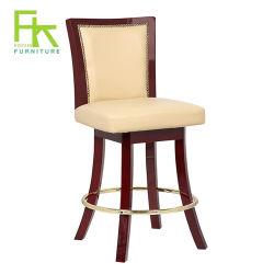 Слот для отдыха с возможностью горячей замены продажи древесины из натуральной кожи ног бар стул используется казино стул мебель