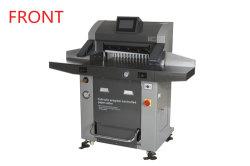 26 Zoll-hydraulische Guillotine-Papierschneidemaschine-Maschine für Kurbelgehäuse-Belüftung Rh670t