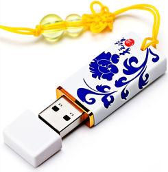 블루/화이트 포트 켈랭 USB 8G 16g 세라믹 U 디스크