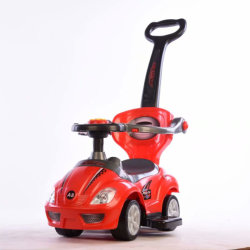 Поездка на ребенка на игрушки поверните машину с рамкой цвета упаковки