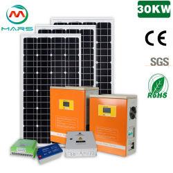 مارس Solar 30kw على الشبكة الشمسية النظام 300 واط محول PV سعر القوة