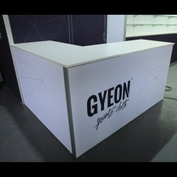 Moderne Messeen-Stand-Bildschirmanzeige des Ausstellung-hellen Kasten-20X20