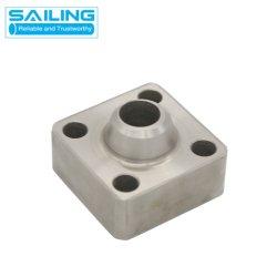 En acier inoxydable de haute pression personnalisé de raboutage à embase carrée