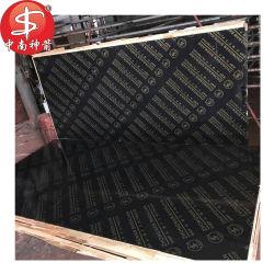 La pellicola nera di Linyi 18mm ha affrontato il compensato impermeabile per costruzione