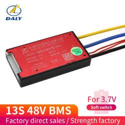 Daly BMS 13s 48V 15A Batterie lithium-ion pour batterie avec contacteur de lève-18650 SOFT