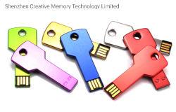 Tasto istantaneo personalizzato di memoria Flash di chiave di azionamento del USB del bastone 2.0 del USB