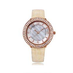 Роскошный 3ATM водонепроницаемый женщина смотреть оптовая торговля алмазами диск набора команд оболочки наручные часы (JY-AL100)