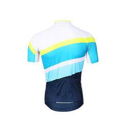 卸し売り人の乗車のジャージーの短い袖のTシャツのマウンテンバイクのワイシャツMTBのスポーツの適性および屋外の服装
