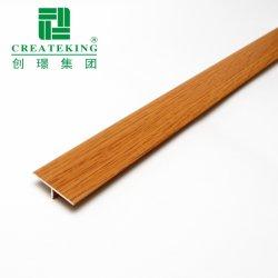 Bon prix de l'aluminium en forme de T Profil de transition de plancher