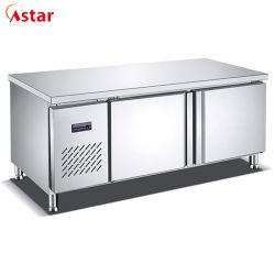 Инженер конструкции системы охлаждения воздуха коммерческие холодильник морозильник рабочая таблица для ресторана