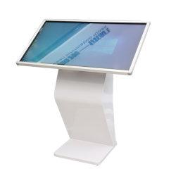 شاشة عرض الكشك الرقمي لشاشة LCD الداخلية شبكة عالية الوضوح كاملة الألوان الإعلان شاشة LCD المخصصة التي تعمل باللمس السعر