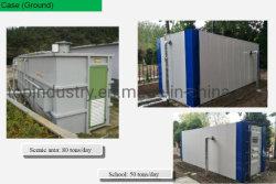 Sepultado Metro/Terra Tratamento biológico de águas residuais integrada de equipamentos de tratamento para fins residenciais/Office/Malls/restaurantes/Food/instituições/Rodovias