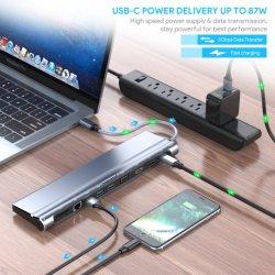C USB Dongle com 4K e 87 W do fornecimento de energia