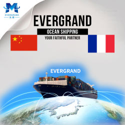 Serviço de Transporte Marítimo de profissionais da China para a França/Le Havre/Paris/Marseille/Bordeaux/Lyon/Nantes/Lille/Montpellier/Nice