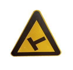 الطريق الفلورسنت المستطيل ألومنيوم لوحة إشارات تحذير المرور