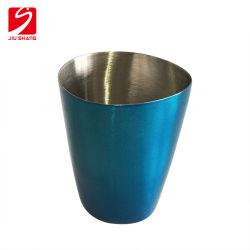 三角形の形のBarwareのカクテルの飲むコップを電気めっきしなさい