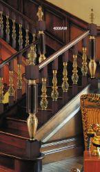Escada Aluminium-Magnesium Luxo High-End as grades de pilar central