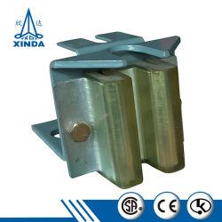 Commerce de gros composants de pièces de rechange de l'élévateur de base patin guide de l'élévateur
