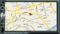 7 POLEGADAS DIN Duplo Universal Car video player de MP5 com espelho, FM, GPS USB, Bluetooth