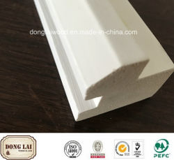 China Fabricación competitivos plano impermeable Interior tipos de marcos de puertas Jambas