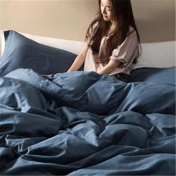 Usine de 100 % polyester drap de lit de la Chine fait main