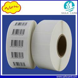 Taille personnalisée adhésif autocollant Pet Étiquette en papier avec impression de codes à barres et d'hologramme