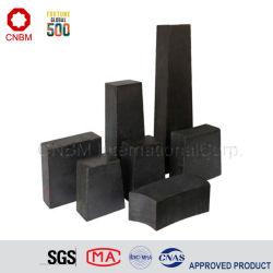 Haute qualité et bon prix de magnésie en briques réfractaires pour l'acier au carbone louche