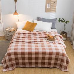 100%年のポリエステル投球毛布はフランネルの羊毛毛布の極度の柔らかいMicrofiber毛布の投球を印刷した