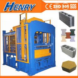 機械セメントの煉瓦機械に全生産ラインをするフルオートQt8-15油圧具体的な広く利用された/Block