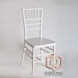 L'élégance Flash blanc Sillas Weding événement résine Chiavari chaise empilable