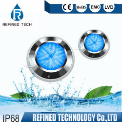 樹脂によって満たされる超薄いRGBWの表面の取付けられた水中照明