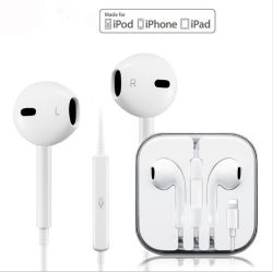 Fone de ouvido com fio Headfree Buebooth para iPhone iPad iPod