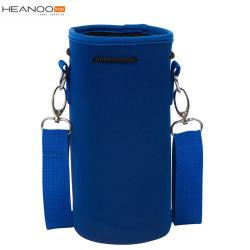 كيس خارجي محمول لحامل المياه زجاجة مياه من النيوبرين ومصنوعة من الكبريتات الغطاء