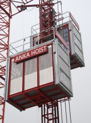 Constructeur de la construction d'ascenseur pour l'homme et de matériel de cargaison palan passager