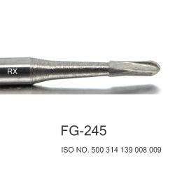 치아 우르르 고속 텅스텐 카바이드 로터리 버 FG-245