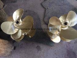 3つの刃の合金の金属の海洋の固定ピッチプロペラ