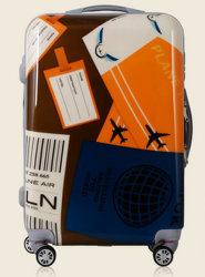 Новый дизайн красивых ПК+передвижного блока АБС, кейс 20''24''28''hardshell багажа (XHP051)