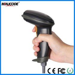 Con cable de alta velocidad 1d Laser Scanner de códigos de barras de mano, el fabricante, MJ2809