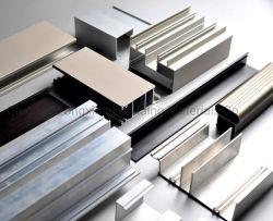Portas e janelas de liga de alumínio de extrusão de perfis para materiais de construção