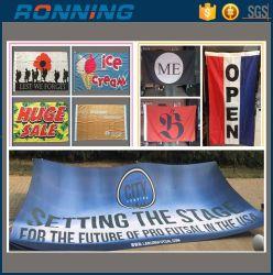 Fabrik-preiswertes Polyester-Drucken-nationales Land, das fördernde kleine grosse riesige kundenspezifische Fahne und Markierungsfahnen bekanntmacht