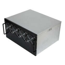 Universeel Type voor Motherboard met 4 Ventilators die Geval ontginnen