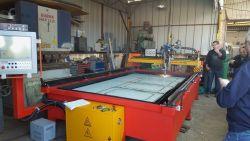 Pequeña potencia aire Cortadora de plasma CNC económica