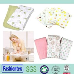 Super Soft хлопок многократного использования детского пеленок Diaper Muslin клетке ткани