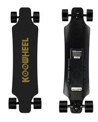 Madera Koowheel monopatín eléctrico con mando a distancia Maple Longboard tablero eléctrico de 4 ruedas