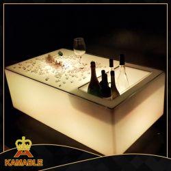 Voyant lumineux de meubles seau à glace Bar Table (G020)
