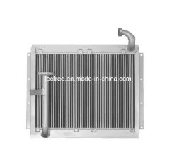 Bar et la plaque en aluminium refroidisseur huile hydraulique industrielle maritime