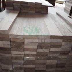Festes Holz-Bodenbelag gebildet durch schwarze Walnuss-Holz