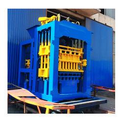8-15 Qt Youtube concreto Oco Bloco Automática/Preço máquina de tijolos